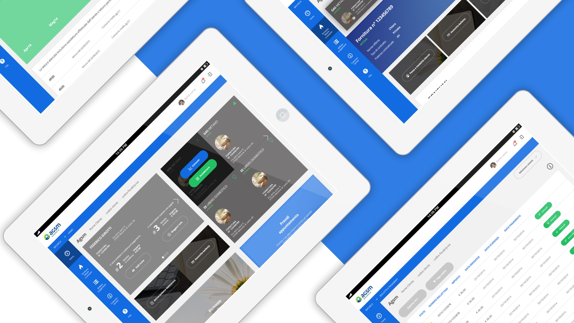 Kaleidoscope Digital Agency - Countbox Agsm Energia - Portale Mobile